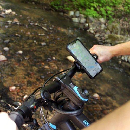 ALUMINIOWY UCHWYT ROWEROWY NA TELEFON BikeHold