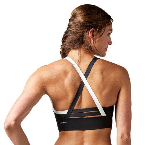 Biustonosz Reebok Cardio Strappy Bra stanik sportowy termoaktywny fitness