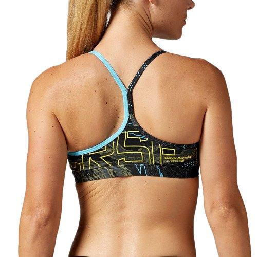 Biustonosz Reebok CrossFit Skinny stanik sportowy termoaktywny fitness