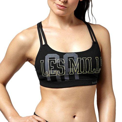 Biustonosz Reebok Les Mills Bra stanik top sportowy termoaktywny fitness