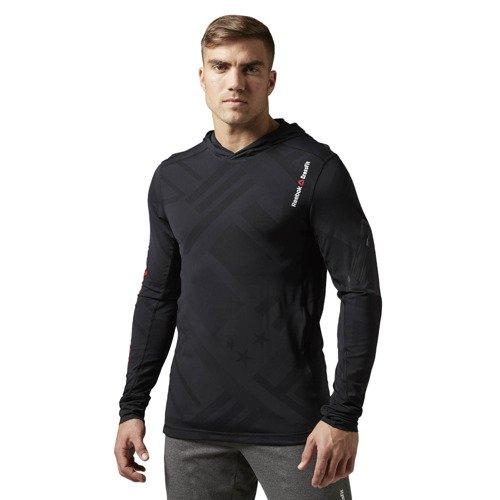 Bluza Reebok CrossFit CorDura Jaquard męska do biegania z kapturem