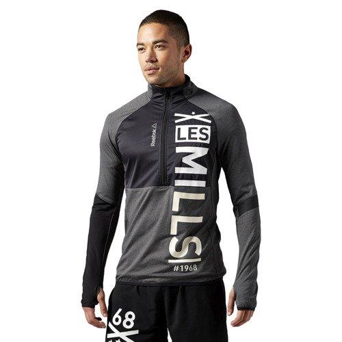 Bluza Reebok Les Mills 1/2 Zip męska termoaktywna do biegania