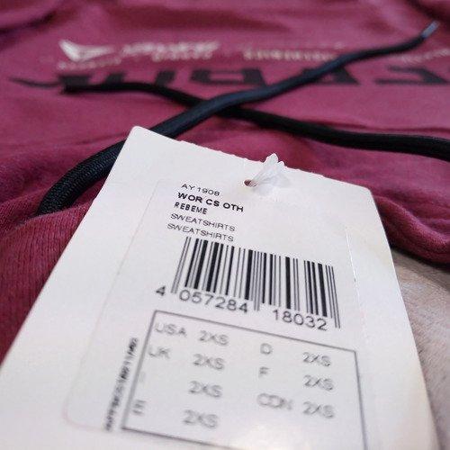 Bluza Reebok Workout Cotton Series OTH damska dresowa sportowa z kapturem
