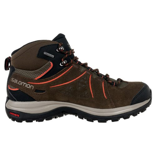 Buty Salomon Ellipse 2 MID Leather Gore-Tex damskie wodoodporne outdoor trekkingowe