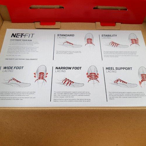 Buty biegowe Puma evoSpeed NetFit Sprint unisex kolce do biegania
