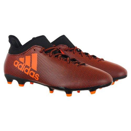 Buty piłkarskie Adidas X 17.3 FG TechFit męskie korki lanki