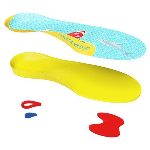 Dynamiczne wkładki ortopedyczne medyczne FootWave dziecięce na koślawość płaskostopie