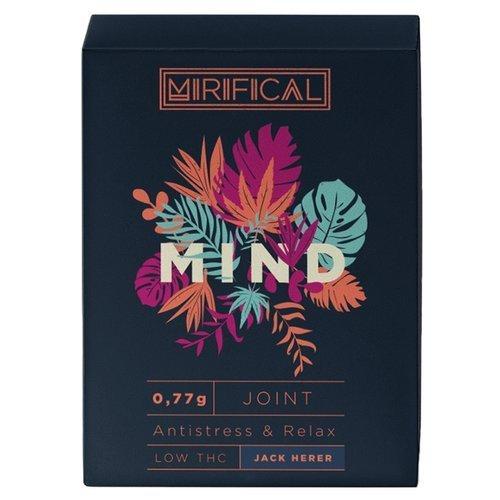 Komplet 5 Joint'ów Mirifical Pre-Rolls Premium CBD 0,7g Jack Herer Mind