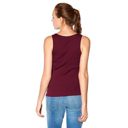Koszulka Adidas NEO Ribbed Tank damska top bawełniany w prążki