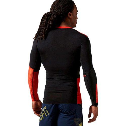 Koszulka Reebok CrossFit Longsleeve męska kompresyjna na długi rękaw treningowa