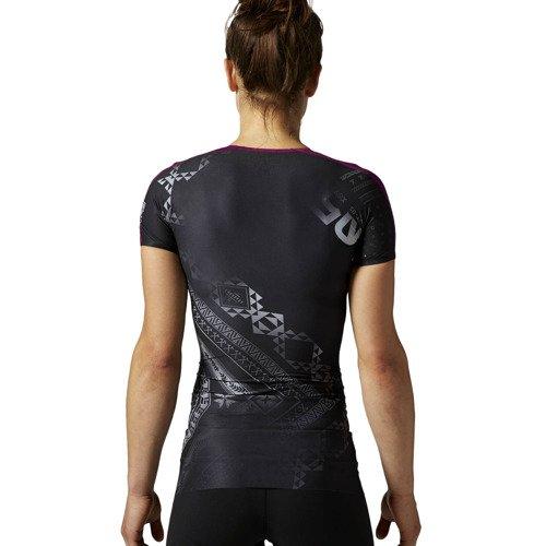 Koszulka Reebok CrossFit damska sportowa kompresyjna termoaktywna