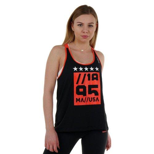 Koszulka Reebok Gymana Tank damska bokserka top termoaktywny