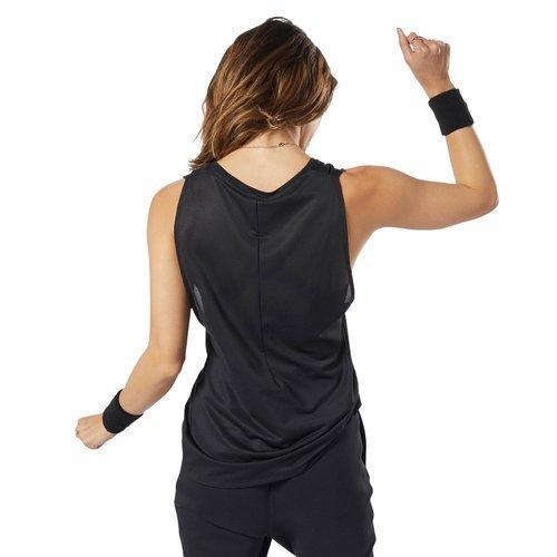 Koszulka Reebok Les Mills BodyCombat damska termoaktywna top bezrękawnik sportowy