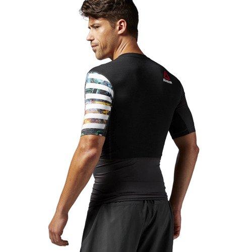 Koszulka Reebok One Series PW3R Short Sleeve męska kompresyjna sportowa na siłownie