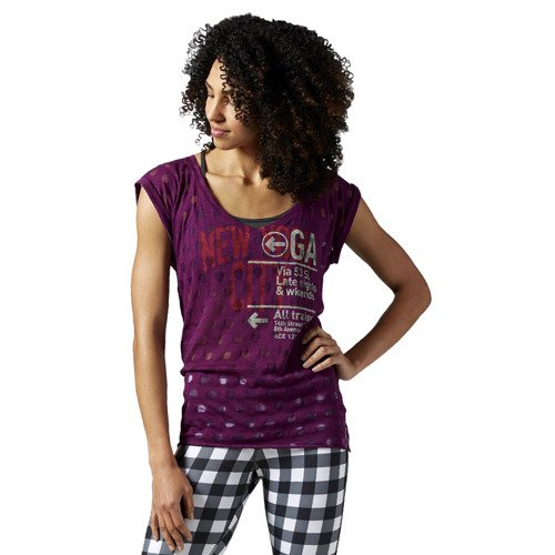 Koszulka Reebok Yoga New York damska t-shirt sportowy