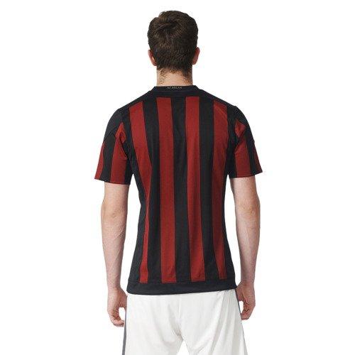 Koszulka piłkarska Adidas AC Milan Home dziecięca młodzieżowa meczowa 2015/2016