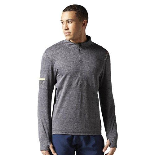 Koszulka z długim rękawem Reebok One Series Run 1/2 Zip męska sportowa termoaktywna
