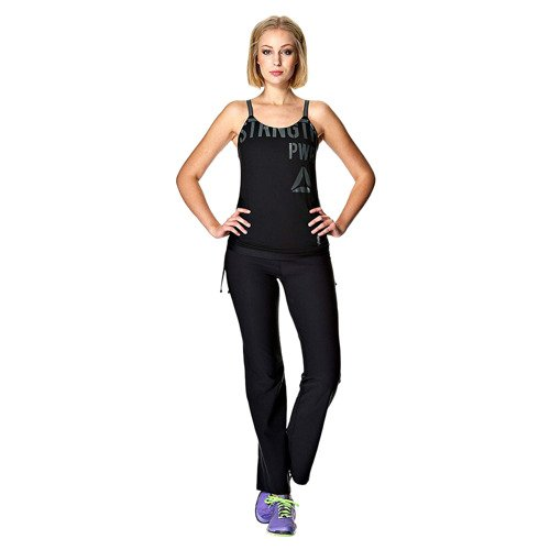 Koszulka ze stanikiem Reebok Realflex Long Bra damska top sportowy termoaktywny