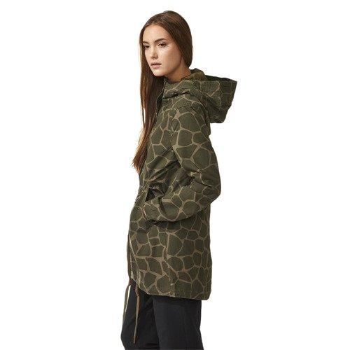 Kurtka Adidas Originals Giraffe damska parka przejściowa płaszcz