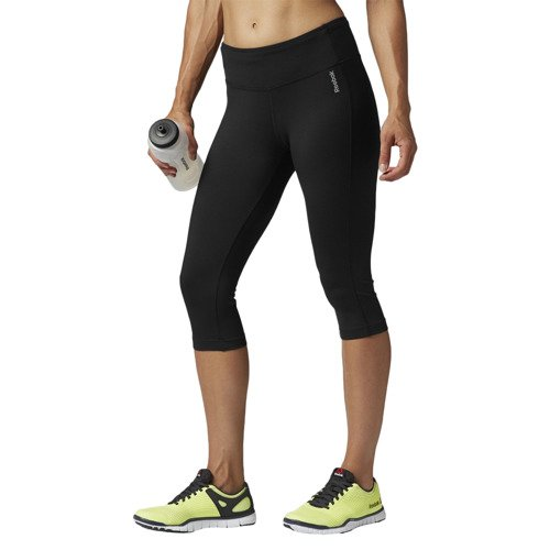 Legginsy 3/4 Reebok Sport Essentials Capri damskie getry termoaktywne