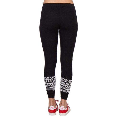 Legginsy Adidas Patterned damskie spodnie getry sportowe