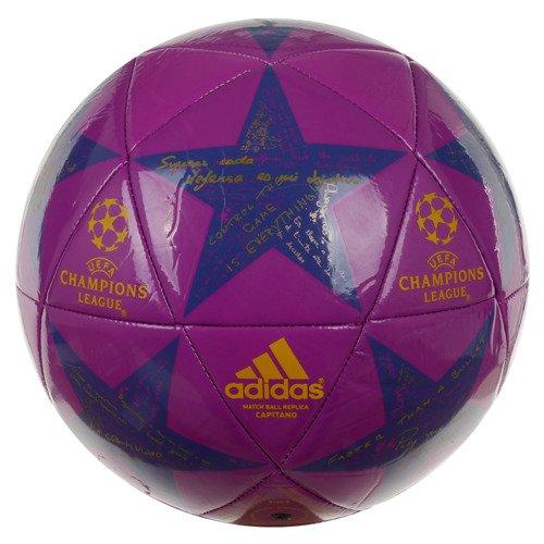Piłka nożna Adidas UEFA CL Finale 16 Capitano Match Ball Replica na trawę orlik
