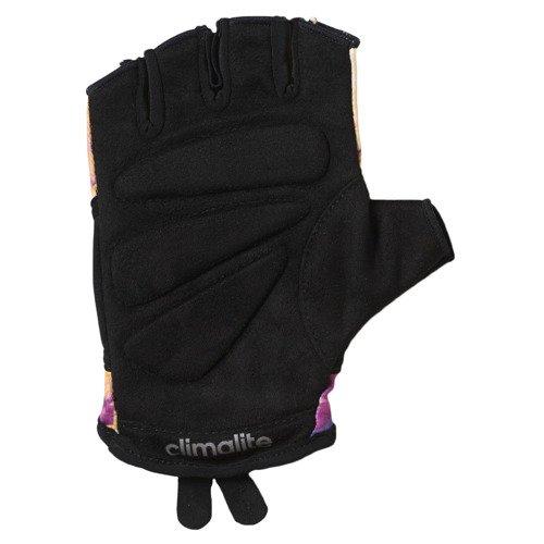 Rękawice Adidas Graphic damskie rękawiczki treningowe na siłownie do crossfitu