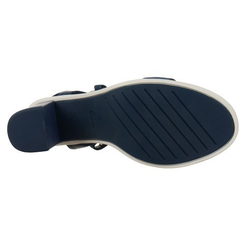 Sandały Lacoste Lonelle Heel Sandal 116 1 Caw damskie skórzane na obcasie