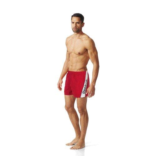 Spodenki Reebok Boxer Logo męskie szorty sportowe kąpielowe na basen