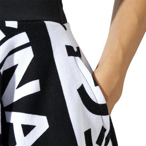 Spódnica Adidas Originals Typo damska spódniczka midi rozkloszowana