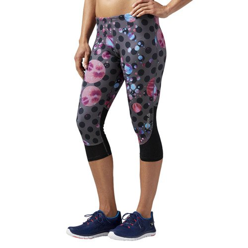 Spodnie 3/4 Reebok Running Essentials Capri damskie legginsy getry sportowe