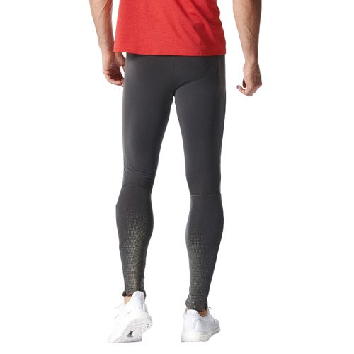 Spodnie Adidas ClimaHeat męskie getry termoaktywne treningowe do biegania
