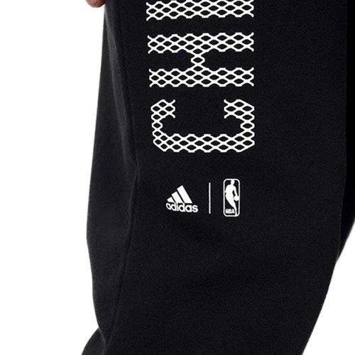 Spodnie Adidas Fan Wear Chicago Bulls męskie dresy sportowe