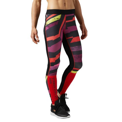 Spodnie Reebok One Series Tight damskie legginsy getry kompresyjne termoaktywne