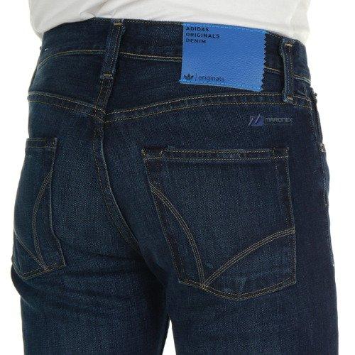 Spodnie dżinsowe ADIDAS Skinny Fit męskie odlschool'owe jeansy