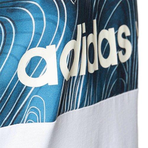 Sukienka Adidas Originals Blue Geology Boyfriend damska sportowa