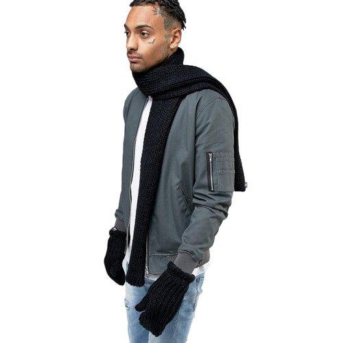 Szalik i rękawice Adidas Originals Scarf+Glove unisex komplet zimowy