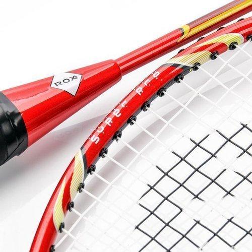 Zestaw rakietek do badmintona ROX 2007ST 2 szt. rakiet + 3 szt. lotek